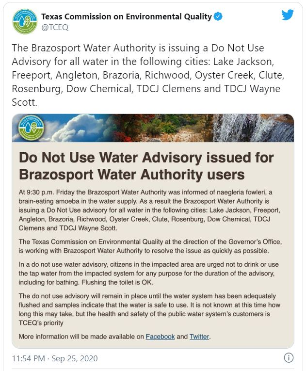 Houston Dont Drink Water