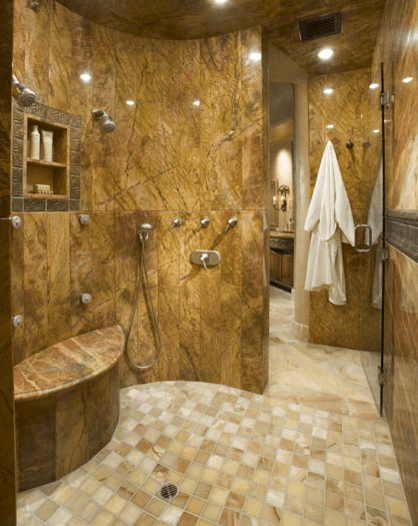 a look at some amazing showers from houzz | homes of the rich