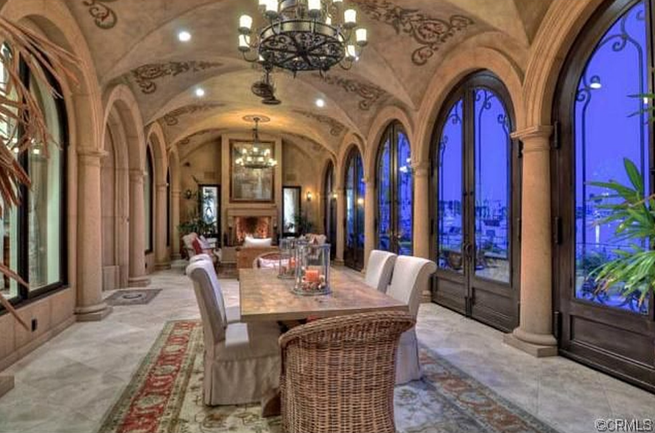 109 Million Mediterranean Waterfront Mansion In Long Beach CA Homes Of The Rich