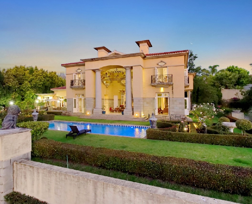 13000 Square Foot Italian Inspired Mansion In Sandton