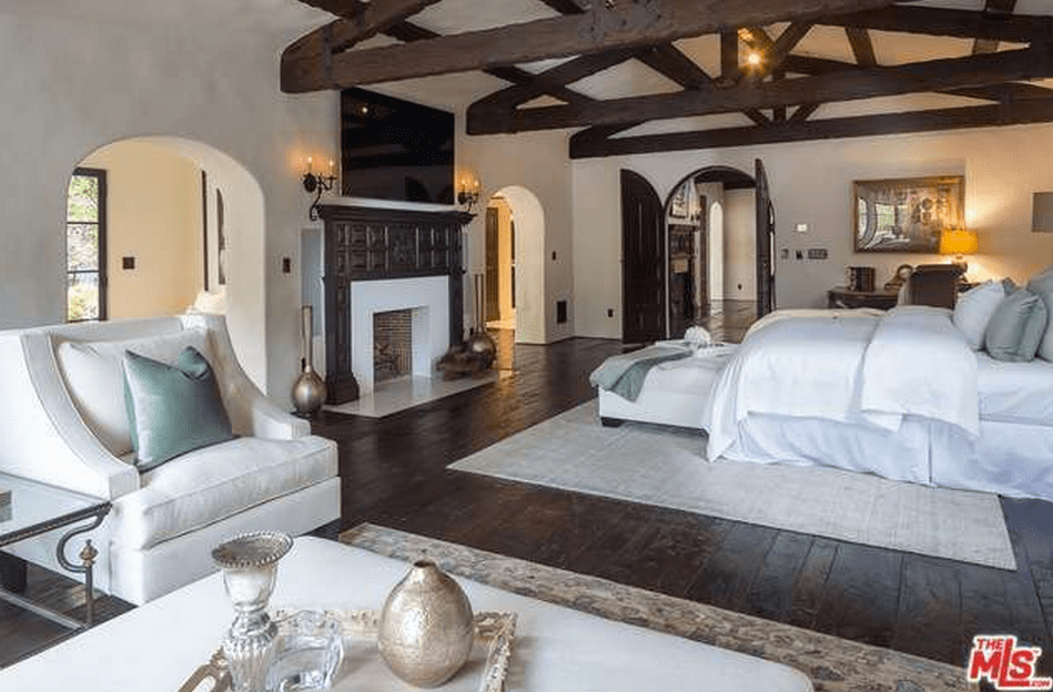 45 Million Spanish Style Estate In Los Angeles CA Homes Of The Rich