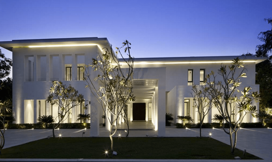 17000 Square Foot Modern Mansion In New Delhi India