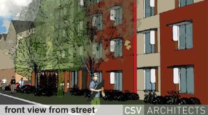 New building design courtesy of CSV Architects