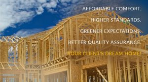 Energy solutions for custom home builders