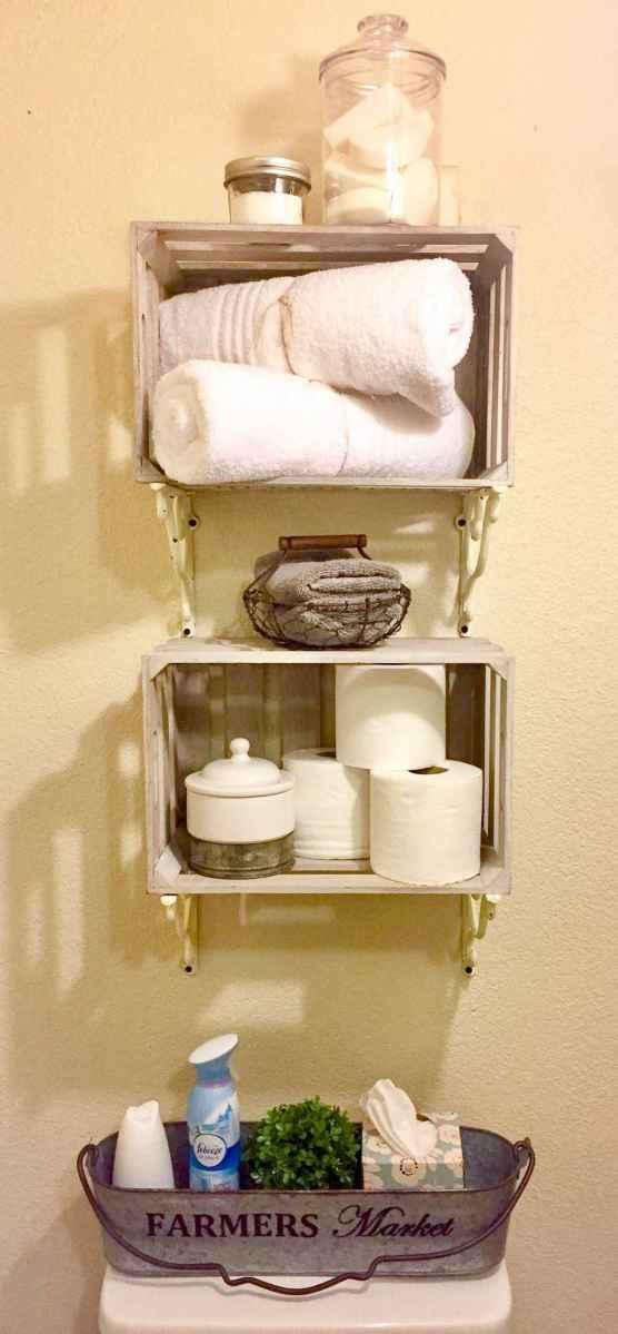 Clever organizing ideas bathroom storage cabinet (74)