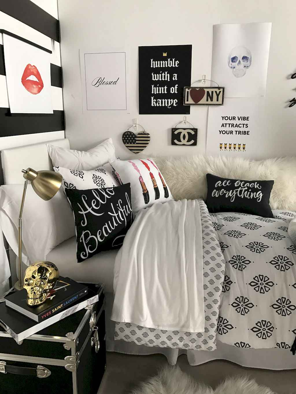 Cute diy dorm room decorating ideas on a budget (40)