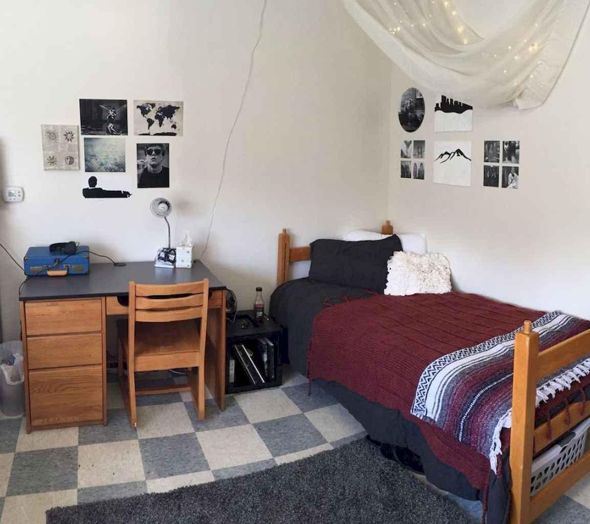 Cute diy dorm room decorating ideas on a budget (45)