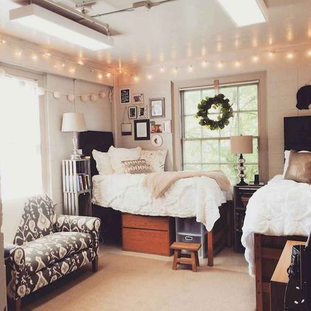 Cute diy dorm room decorating ideas on a budget (53)
