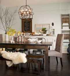 Lasting farmhouse dining room table and decorating ideas (6)