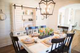 Lasting farmhouse dining room table and decorating ideas (67)