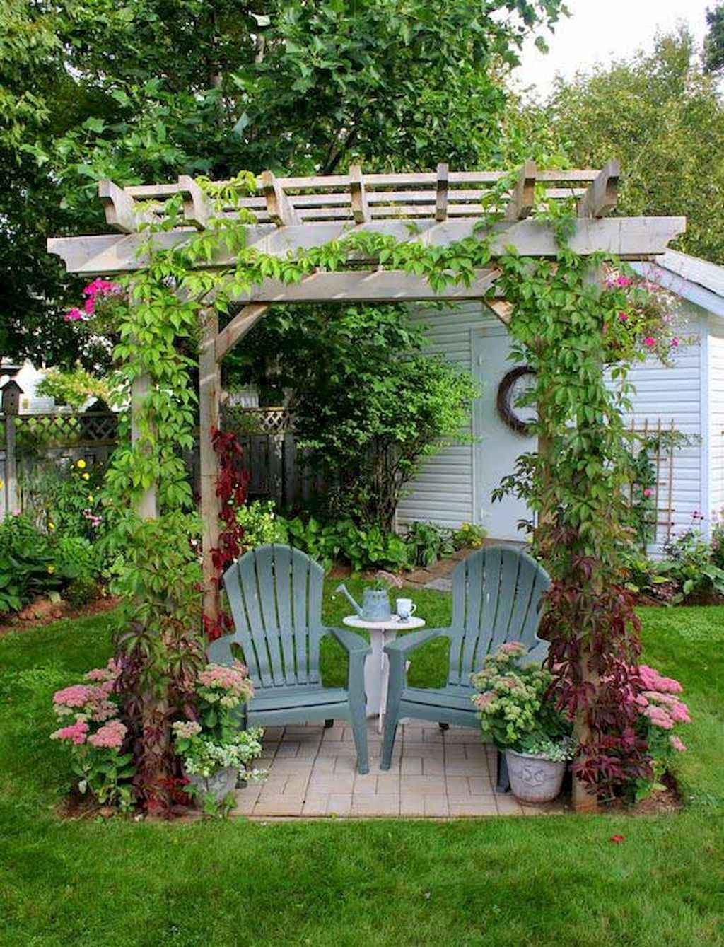Small backyard landscaping ideas on a budget (66)