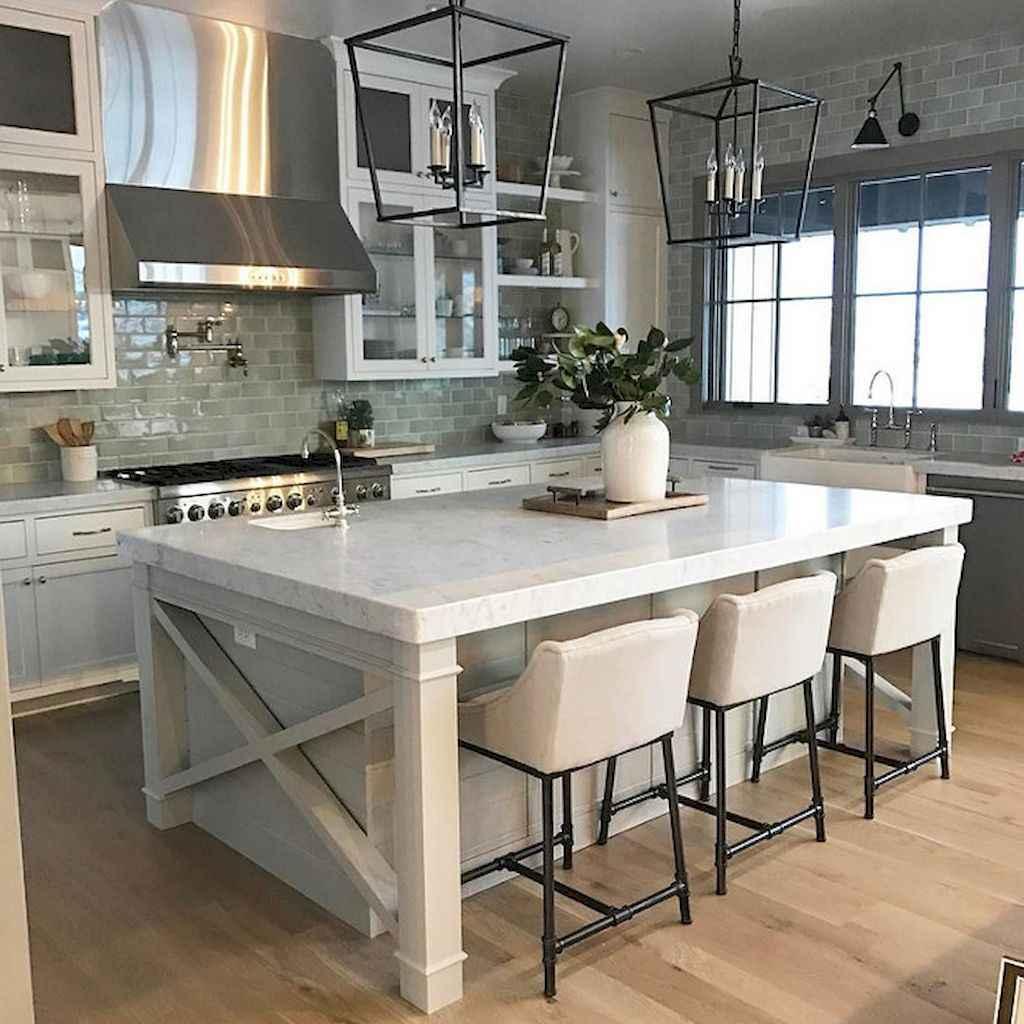 Stunning farmhouse kitchen design and decor ideas (60)