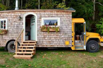 Tiny house bus designs and decorating ideas (29)