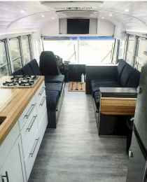 Tiny house bus designs and decorating ideas (75)