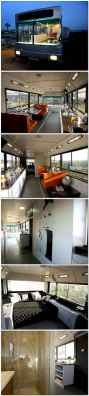 Tiny house bus designs and decorating ideas (84)