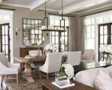 Beautiful french country dining room design and decor ideas (34)