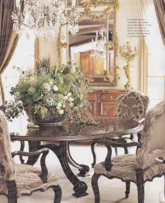 Beautiful french country dining room design and decor ideas (36)