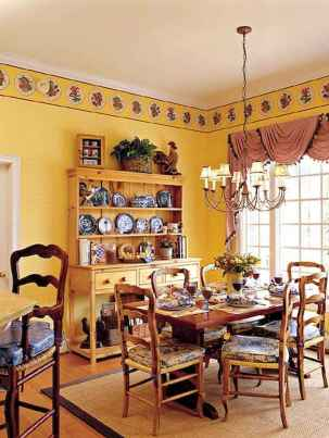 Beautiful french country dining room design and decor ideas (37)