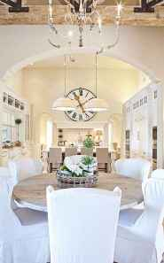 Beautiful french country dining room design and decor ideas (42)