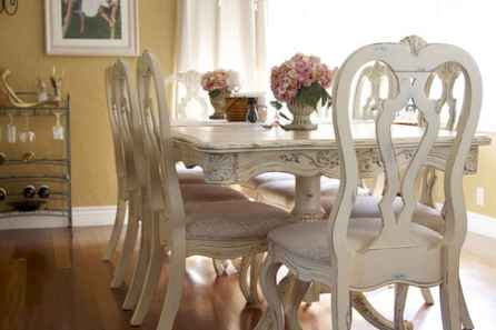 Beautiful french country dining room design and decor ideas (43)