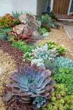 Beautiful front yard rock garden landscaping ideas (53)
