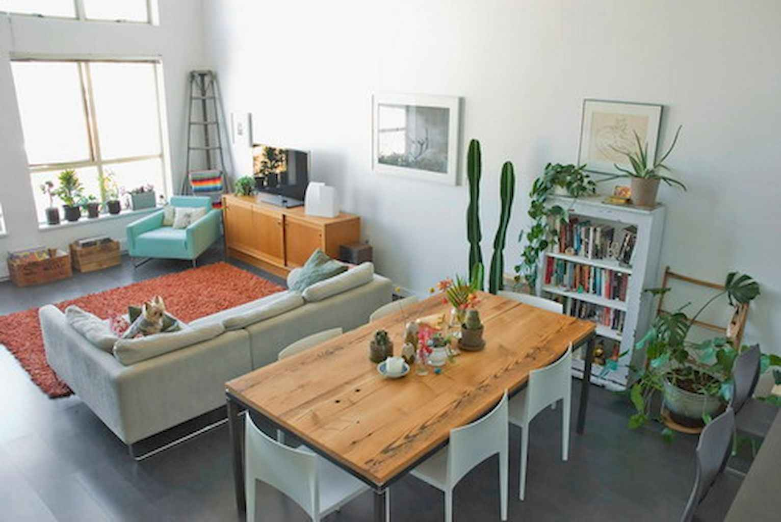 Cool small apartment decorating ideas on a budget (17)