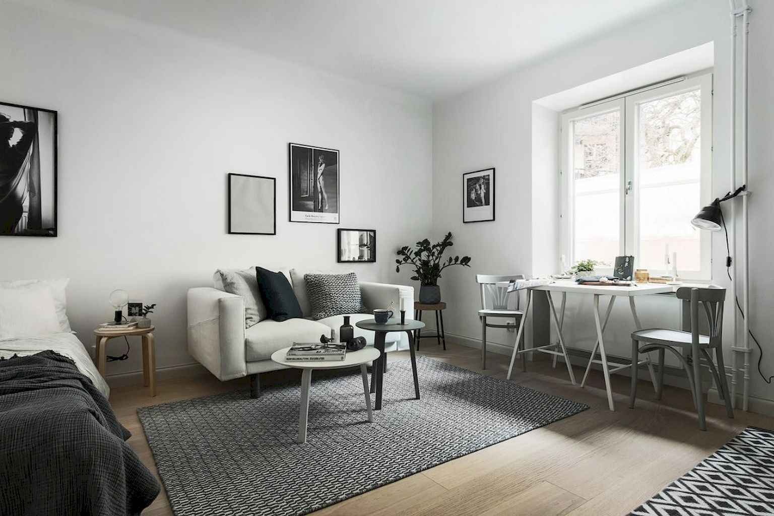 Cool small apartment decorating ideas on a budget (25)