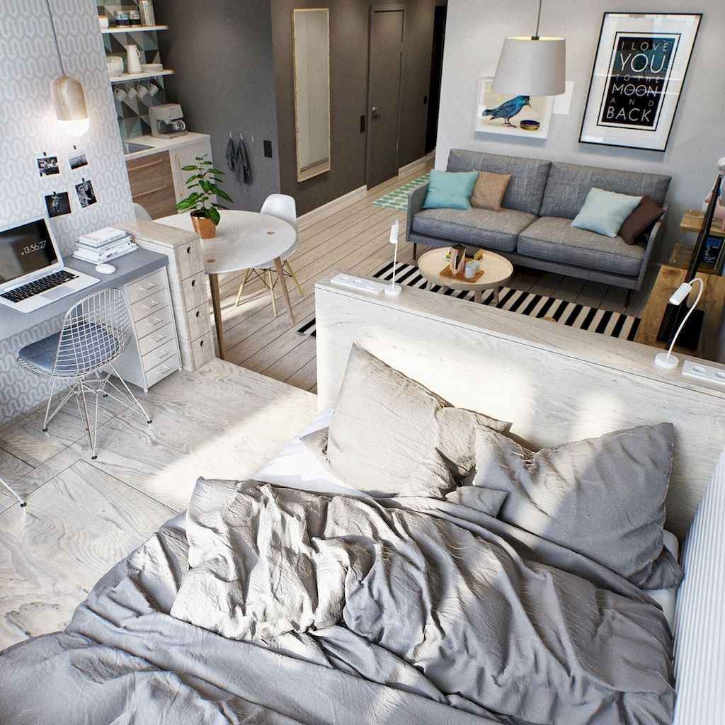Cool small apartment decorating ideas on a budget (29)