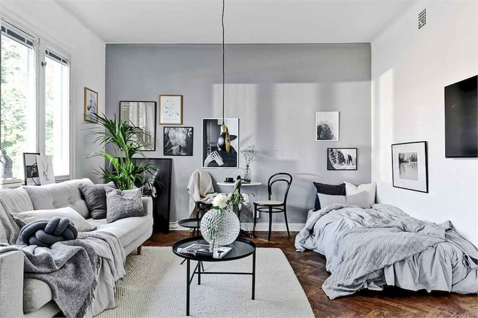 Cool small apartment decorating ideas on a budget (33)