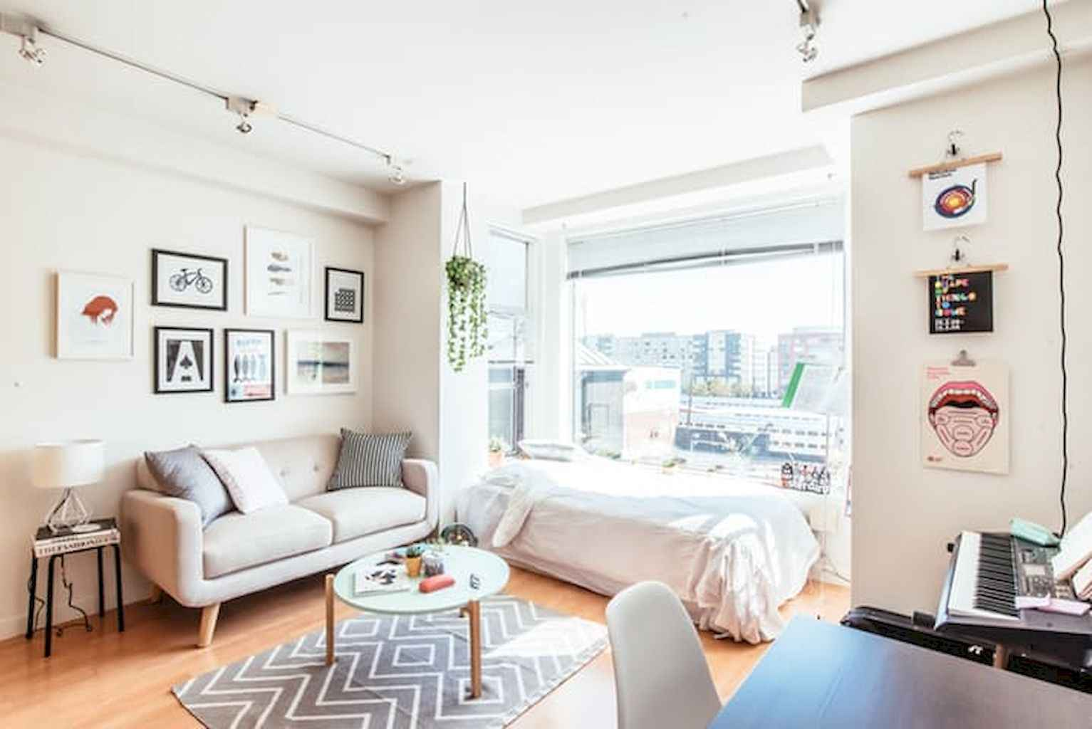 Cool small apartment decorating ideas on a budget (48)