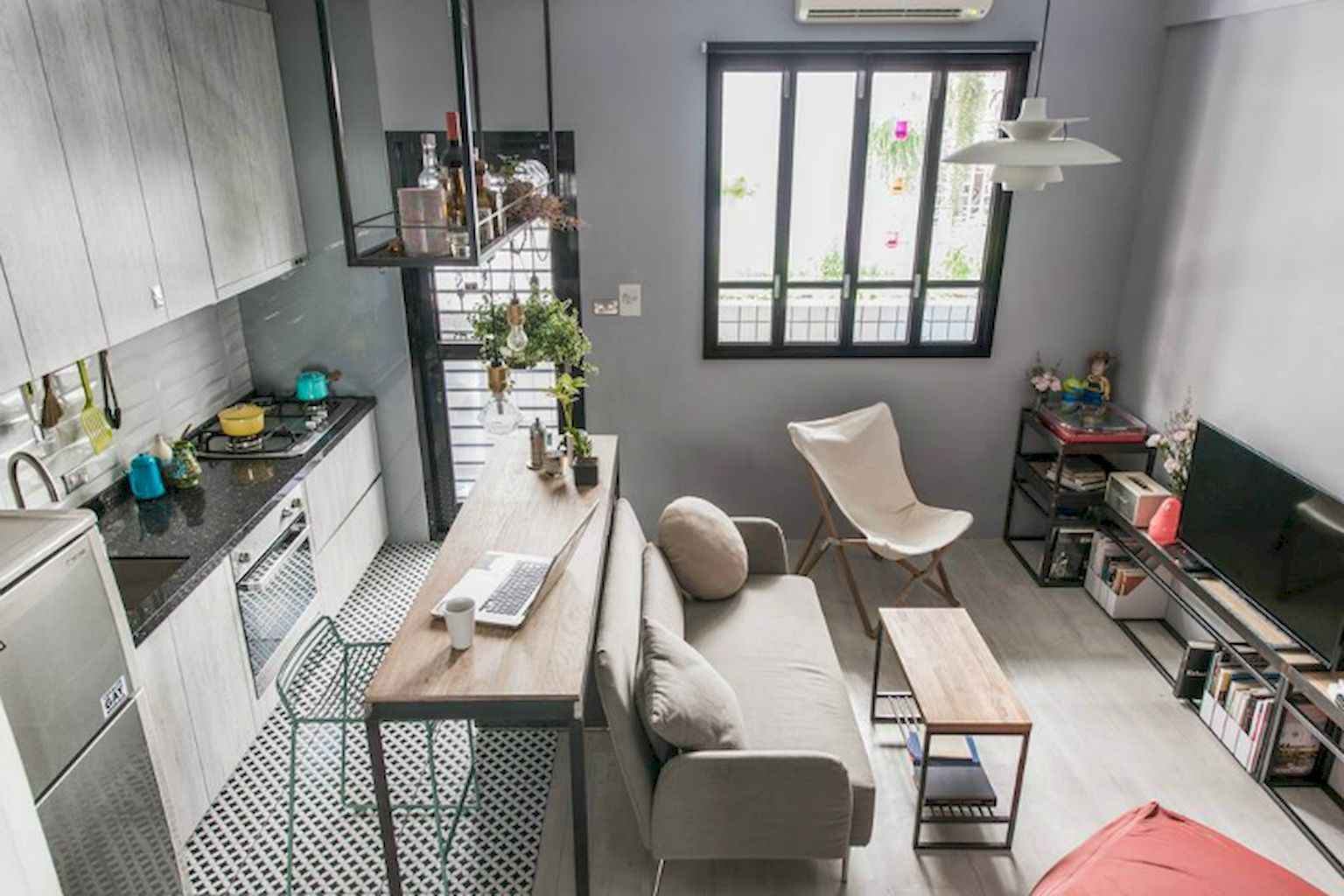 Cool small apartment decorating ideas on a budget (60)