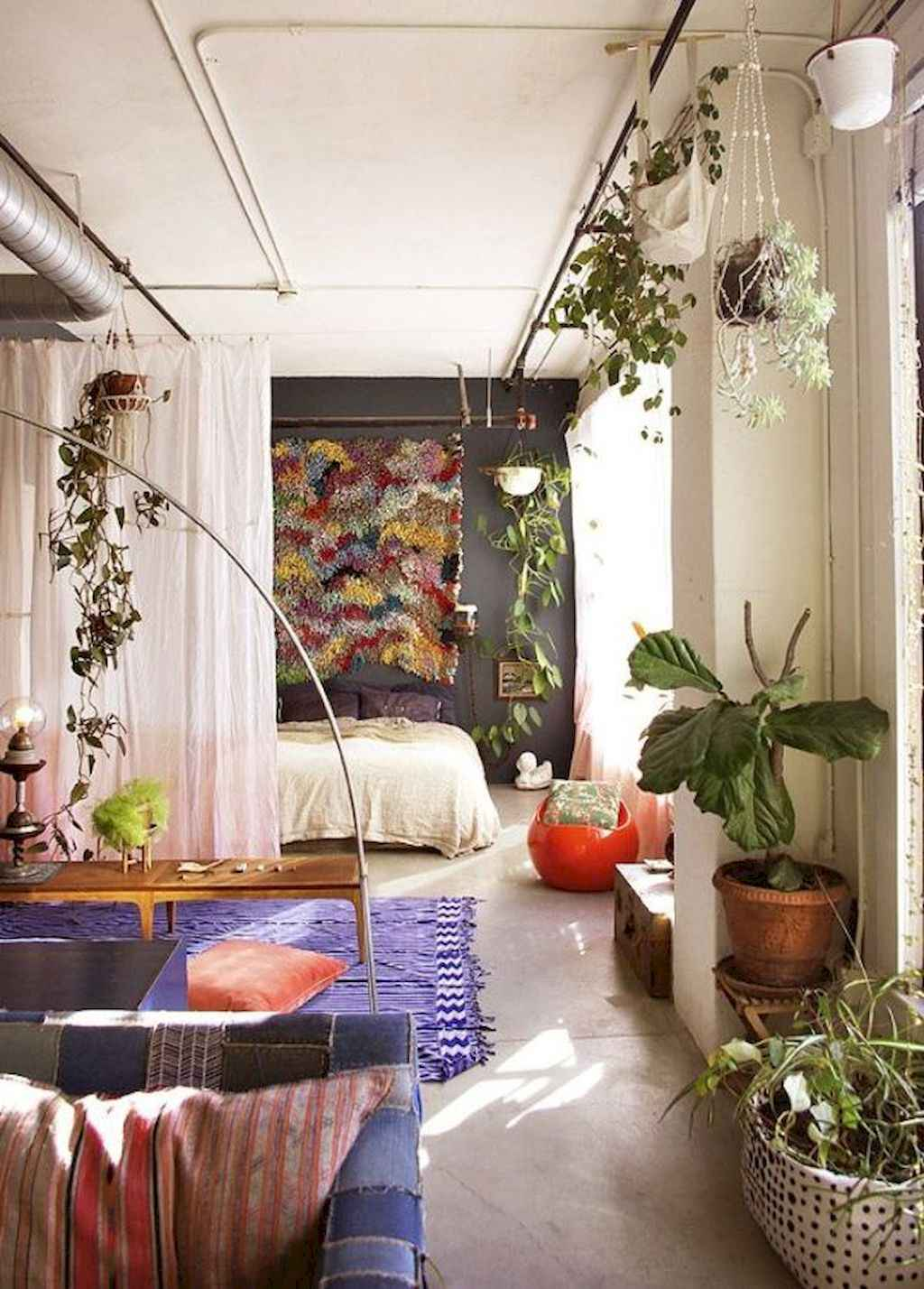 Cool small apartment decorating ideas on a budget (9)