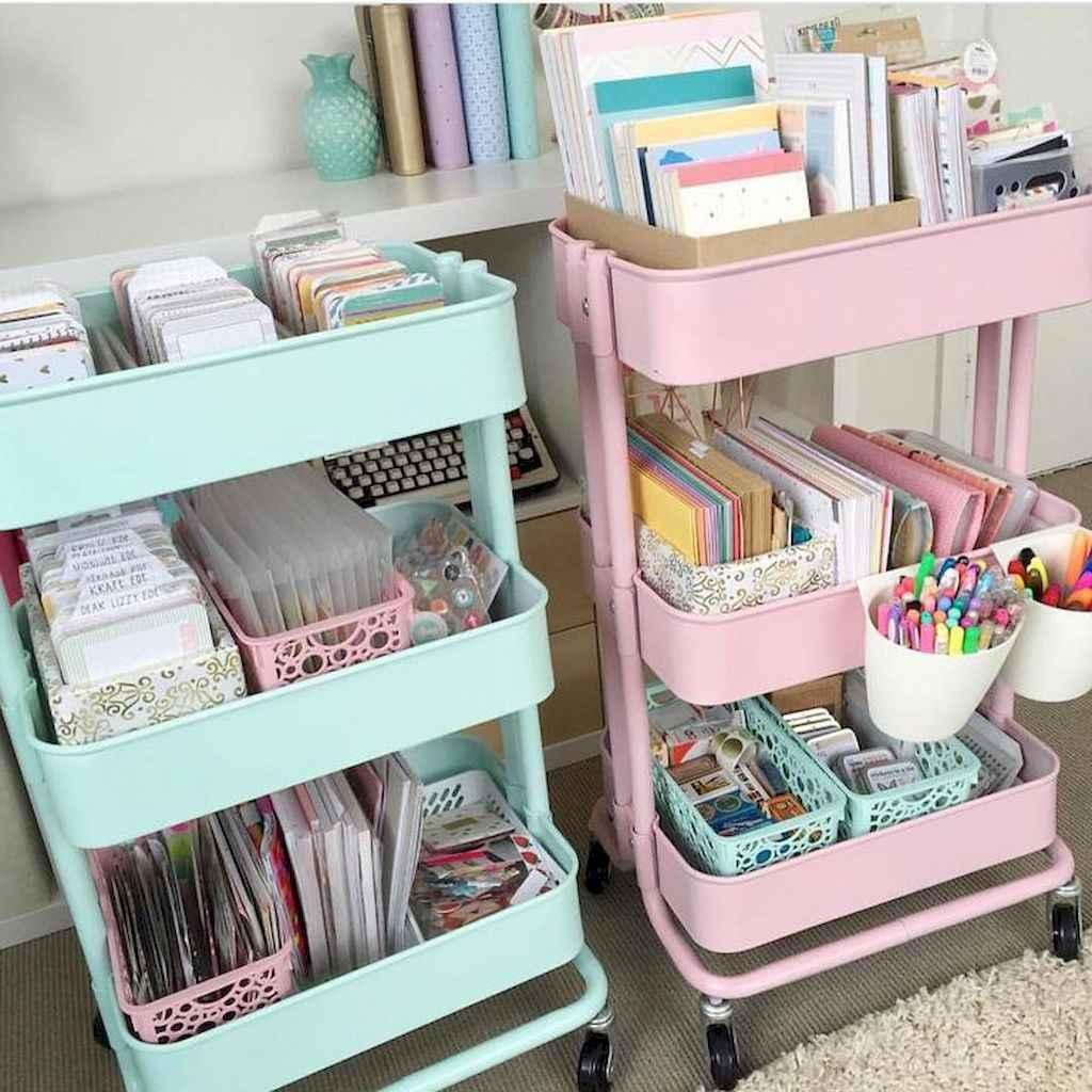 Creative dorm room storage organization ideas on a budget (20)