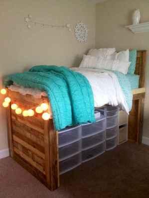 Creative dorm room storage organization ideas on a budget (74)