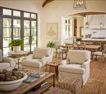 Fancy french country living room decorating ideas (2)