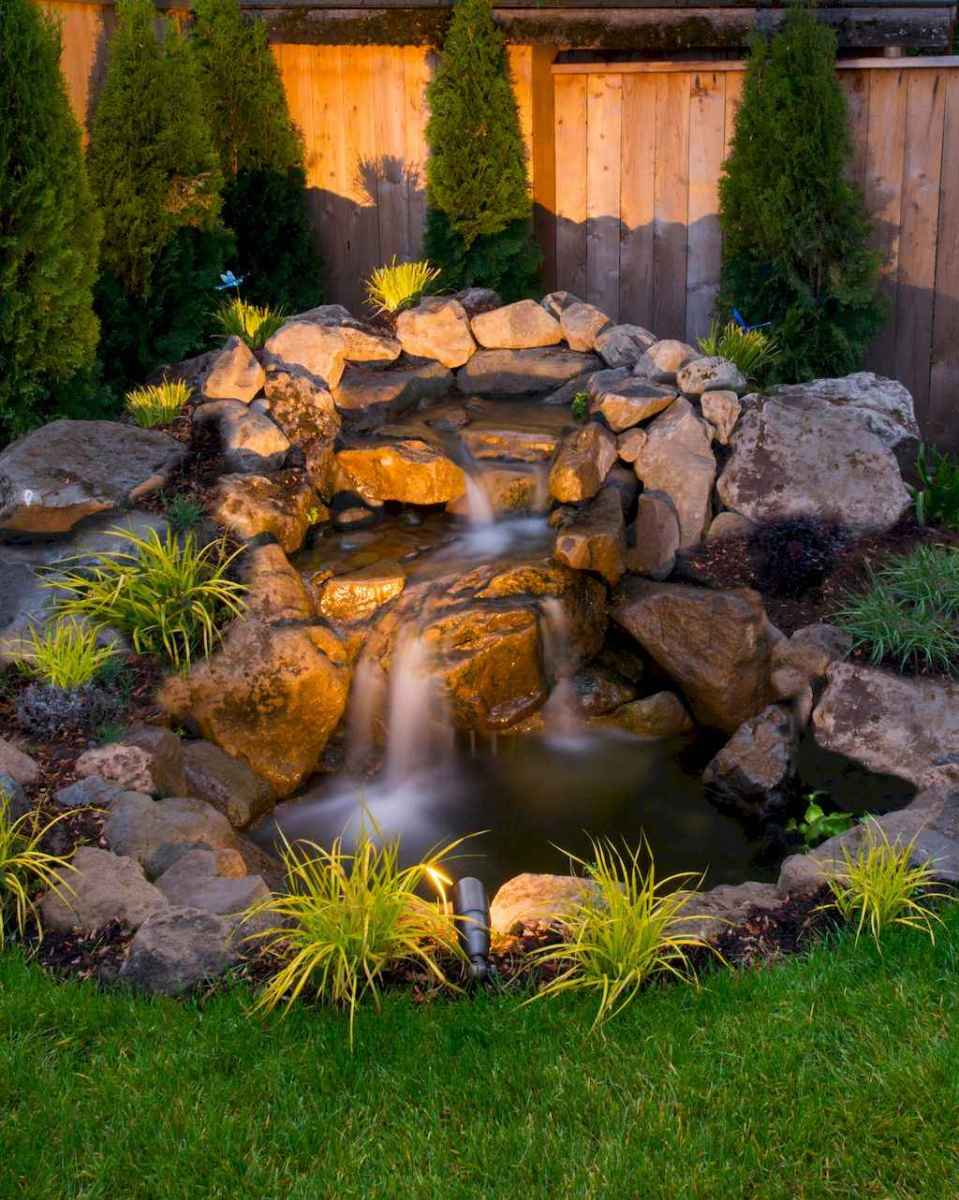 Fresh water feature for front yard and backyard landscaping (16)