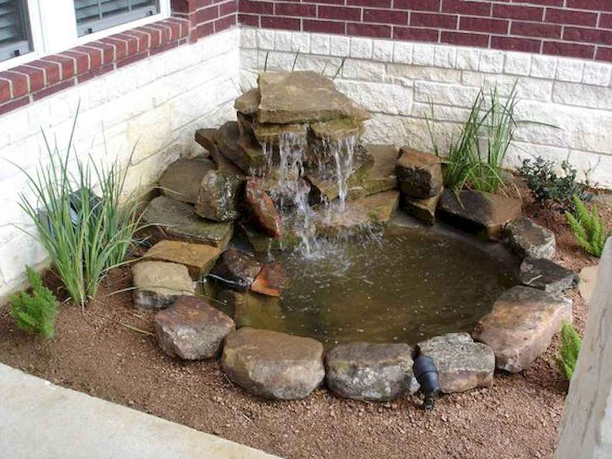 Fresh water feature for front yard and backyard landscaping (70)