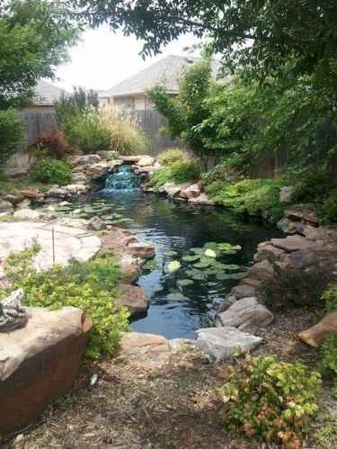 Fresh water feature for front yard and backyard landscaping (75)