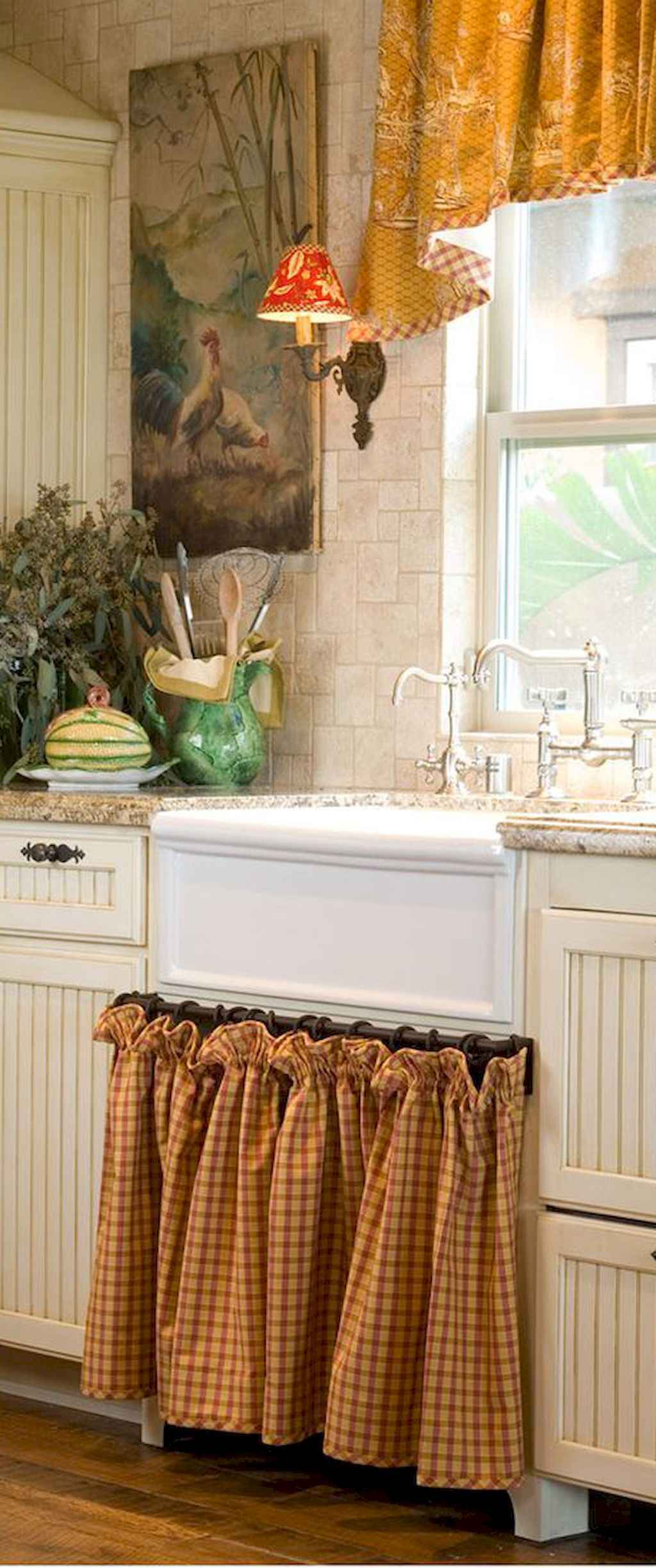 Incredible french country kitchen design ideas (13)