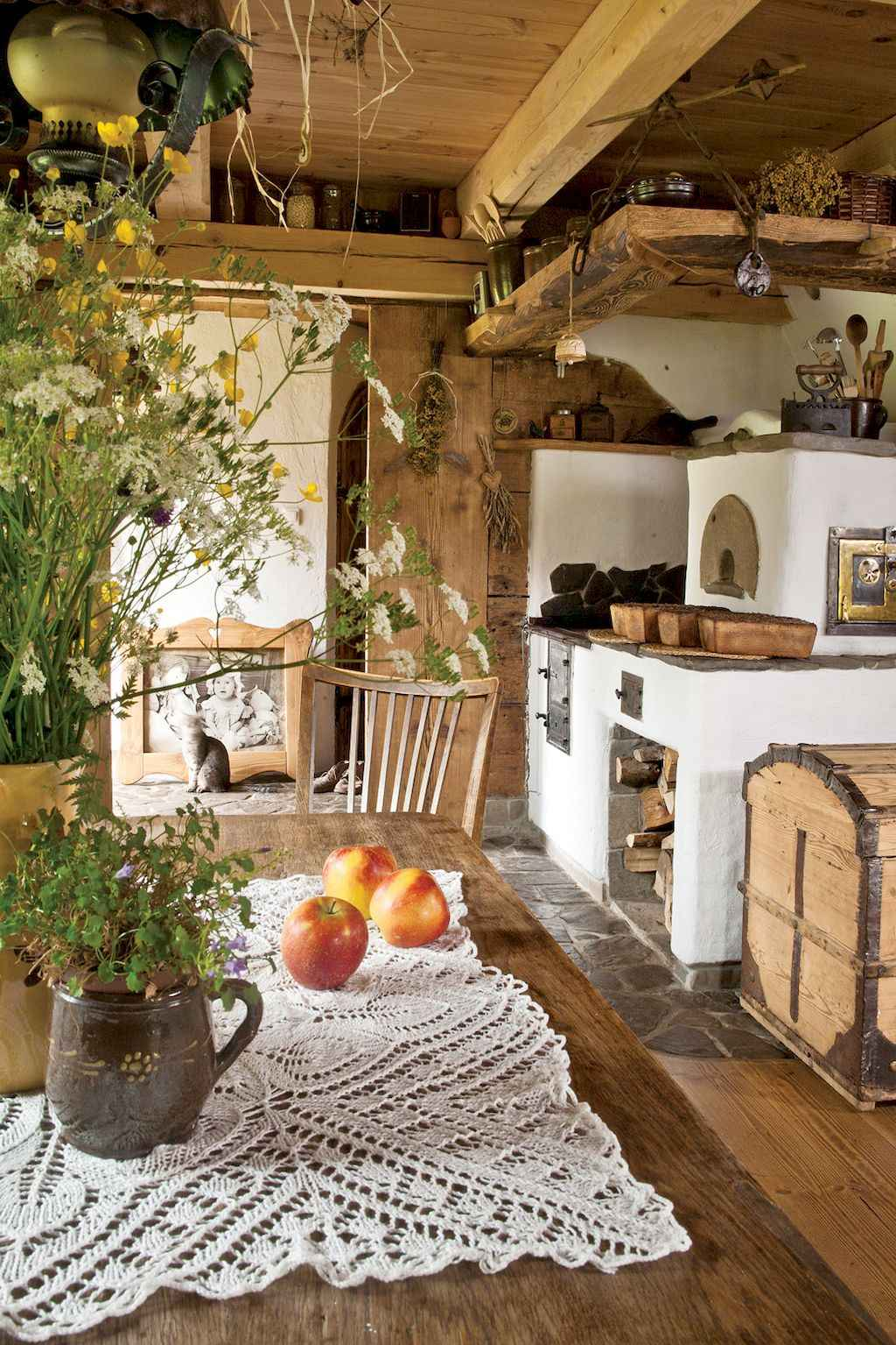 Incredible french country kitchen design ideas (19)