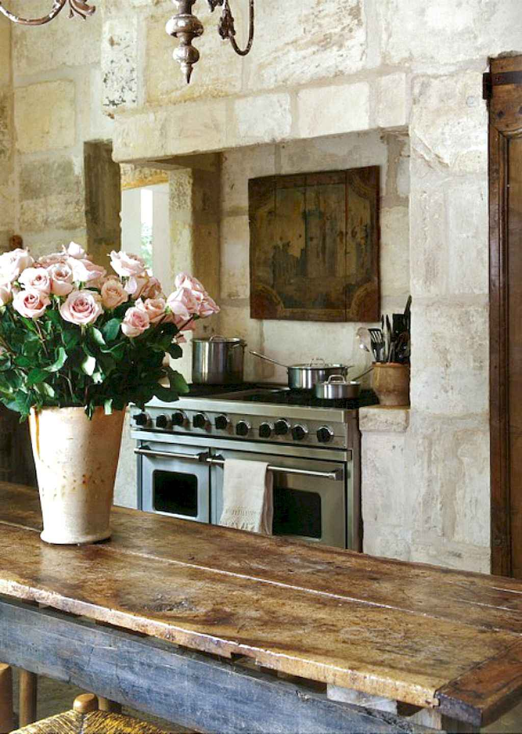 Incredible french country kitchen design ideas (27)