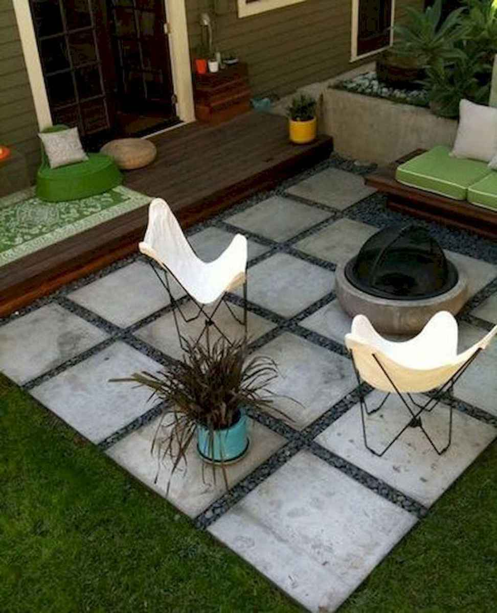 Simple clean modern front yard landscaping ideas (14)