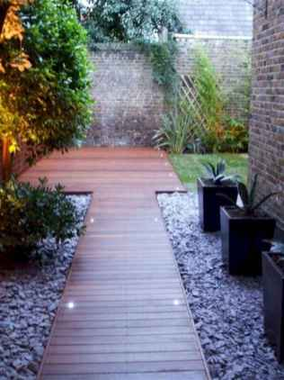 Simple clean modern front yard landscaping ideas (51)