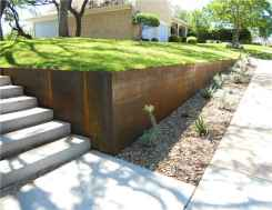 Simple clean modern front yard landscaping ideas (54)