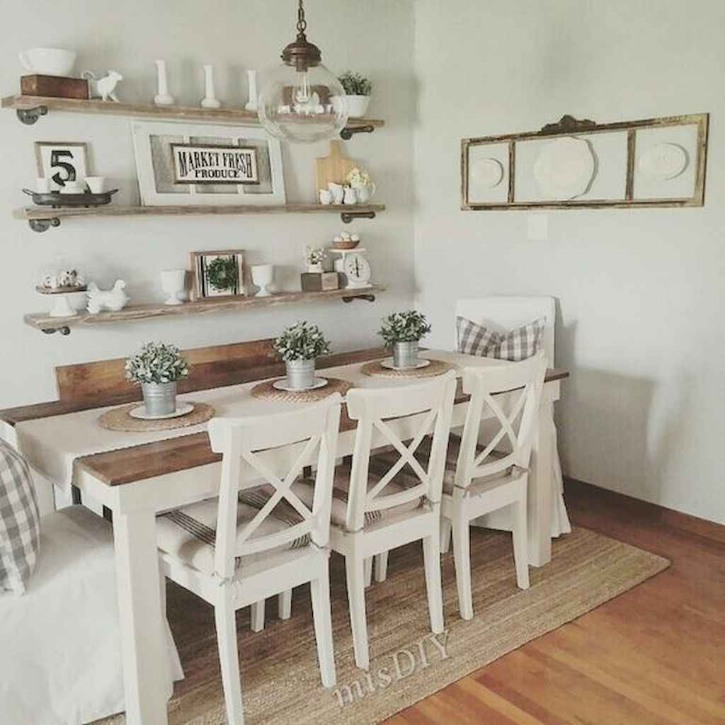 Small dining room table and chair ideas on a budget (13)