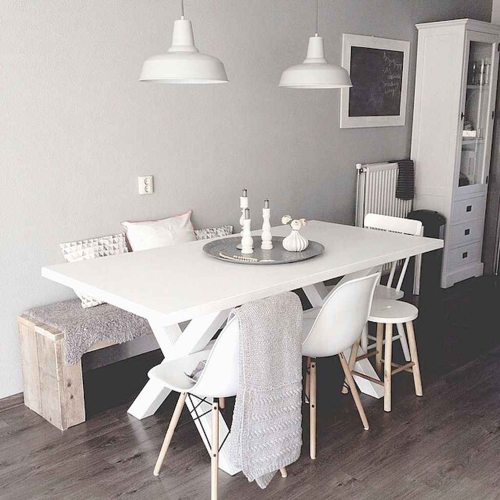 Small dining room table and chair ideas on a budget (23)