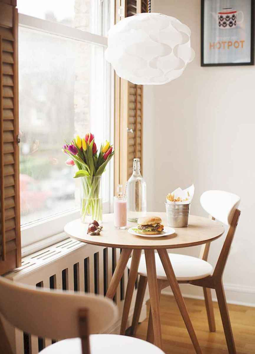 Small dining room table and chair ideas on a budget (24)