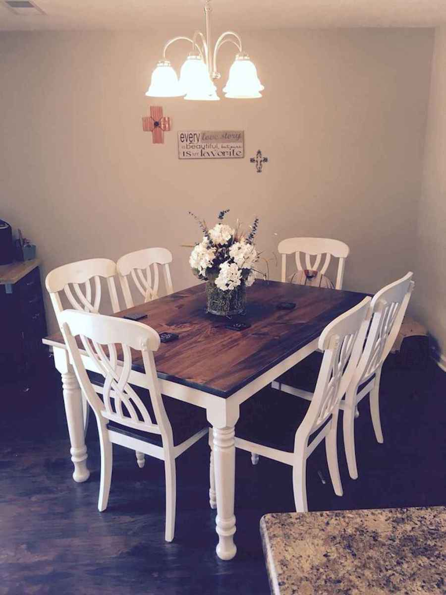 Small dining room table and chair ideas on a budget (28)