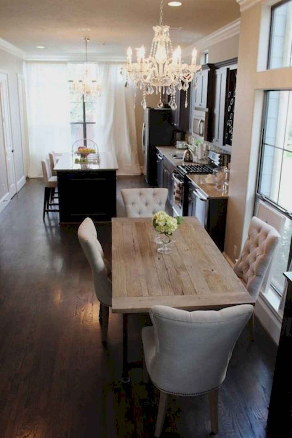 Small dining room table and chair ideas on a budget (30)