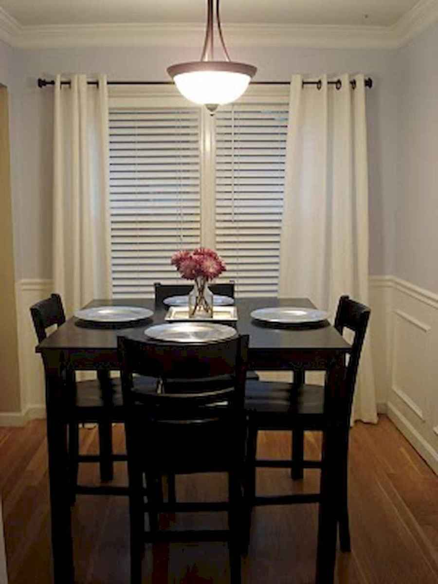 Small dining room table and chair ideas on a budget (47)